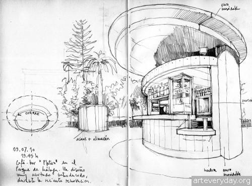5 | Архитектурные зарисовки | ARTeveryday.org