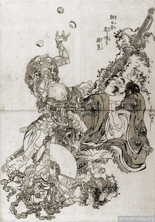 1 | Кацусика Хокусай - Katsushika Hokusai. Японская книжная графика | ARTeveryday.org