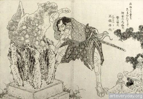 11 | Кацусика Хокусай - Katsushika Hokusai. Японская книжная графика | ARTeveryday.org
