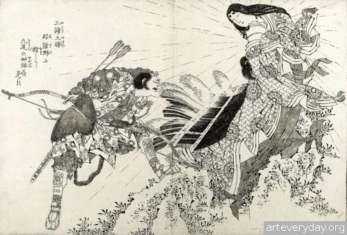 12 | Кацусика Хокусай - Katsushika Hokusai. Японская книжная графика | ARTeveryday.org