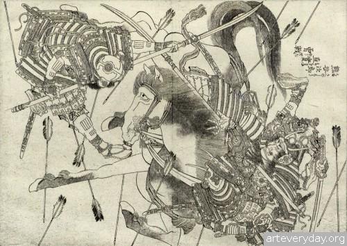 14 | Кацусика Хокусай - Katsushika Hokusai. Японская книжная графика | ARTeveryday.org
