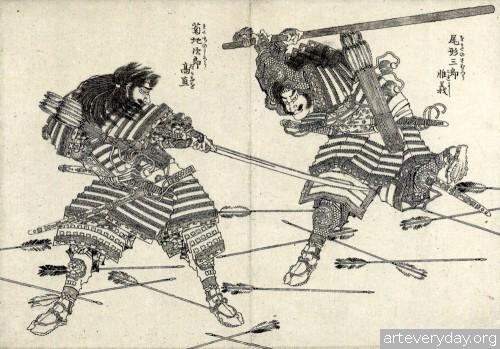2 | Кацусика Хокусай - Katsushika Hokusai. Японская книжная графика | ARTeveryday.org