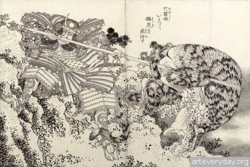 3 | Кацусика Хокусай - Katsushika Hokusai. Японская книжная графика | ARTeveryday.org