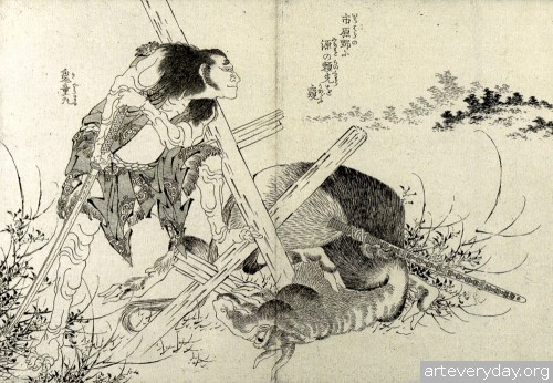 4 | Кацусика Хокусай - Katsushika Hokusai. Японская книжная графика | ARTeveryday.org