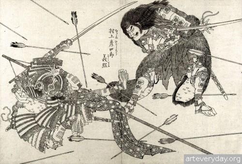 6 | Кацусика Хокусай - Katsushika Hokusai. Японская книжная графика | ARTeveryday.org