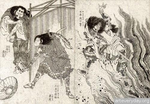 7 | Кацусика Хокусай - Katsushika Hokusai. Японская книжная графика | ARTeveryday.org