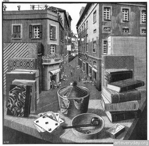 10 | Мауриц Корнелис Эшер – Maurits Cornelis Escher. Полное собрание графики | ARTeveryday.org