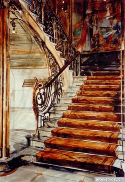 10 | Paul Dmoch. Архитектор и акварелист | ARTeveryday.org