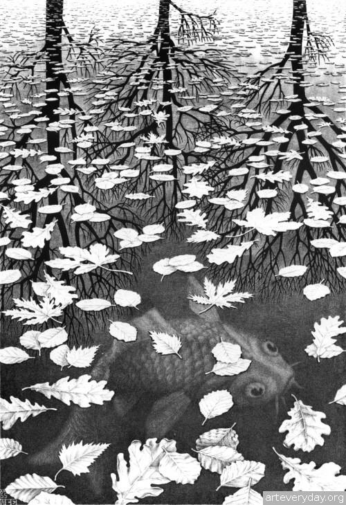 11 | Мауриц Корнелис Эшер – Maurits Cornelis Escher. Полное собрание графики | ARTeveryday.org