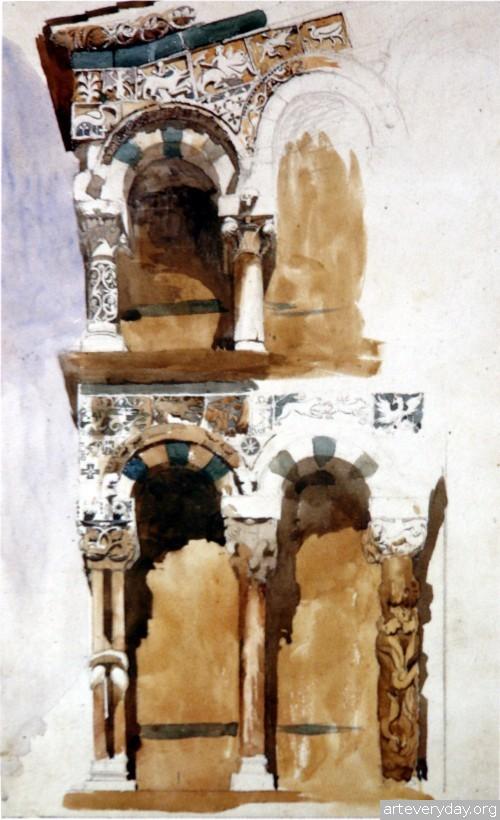 1 | John Ruskin - Джон Рескин. Архитектура в акварели | ARTeveryday.org