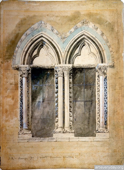11 | John Ruskin - Джон Рескин. Архитектура в акварели | ARTeveryday.org