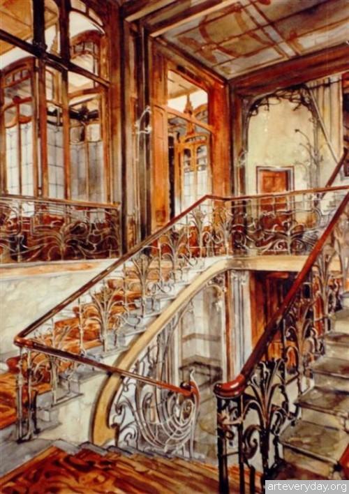 11 | Paul Dmoch. Архитектор и акварелист | ARTeveryday.org