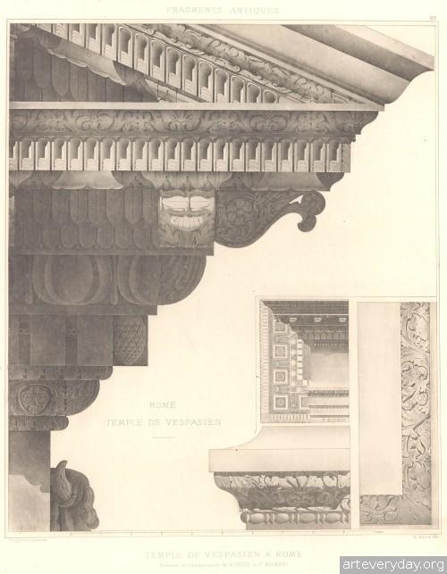 12 | Альбом античных архитектурных элементов | ARTeveryday.org