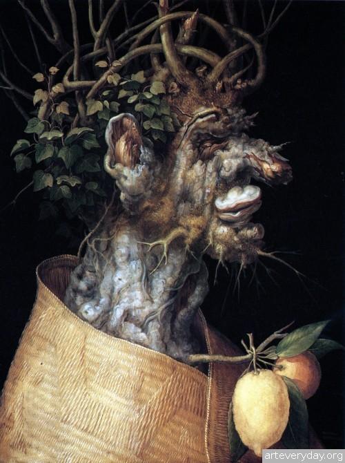 1 | Arcimboldo Giuseppe - Арчимбольдо Джузеппе. Фантастические портреты | ARTeveryday.org