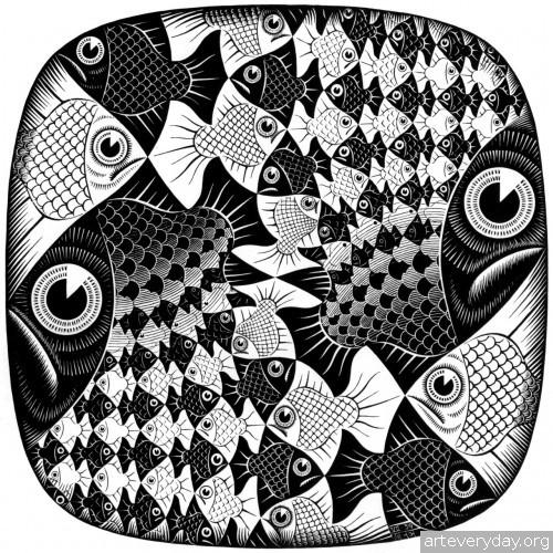 13 | Мауриц Корнелис Эшер – Maurits Cornelis Escher. Полное собрание графики | ARTeveryday.org