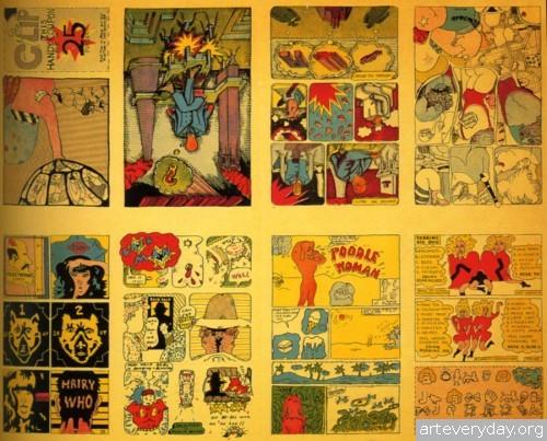 15 | «Взрывной эффект». Поп-арт 60-70 годов | ARTeveryday.org