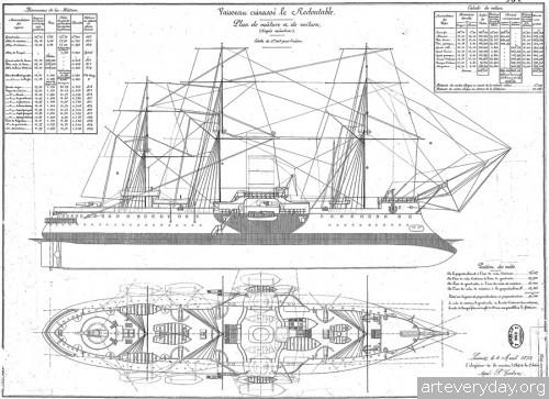 1 | Атлас морской техники ВМФ Франции XIX века | ARTeveryday.org