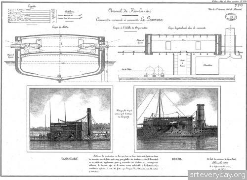 21 | Атлас морской техники ВМФ Франции XIX века | ARTeveryday.org