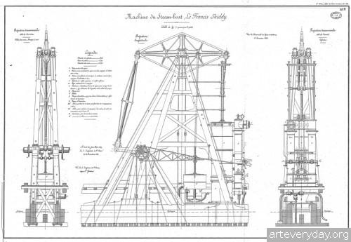 22 | Атлас морской техники ВМФ Франции XIX века | ARTeveryday.org
