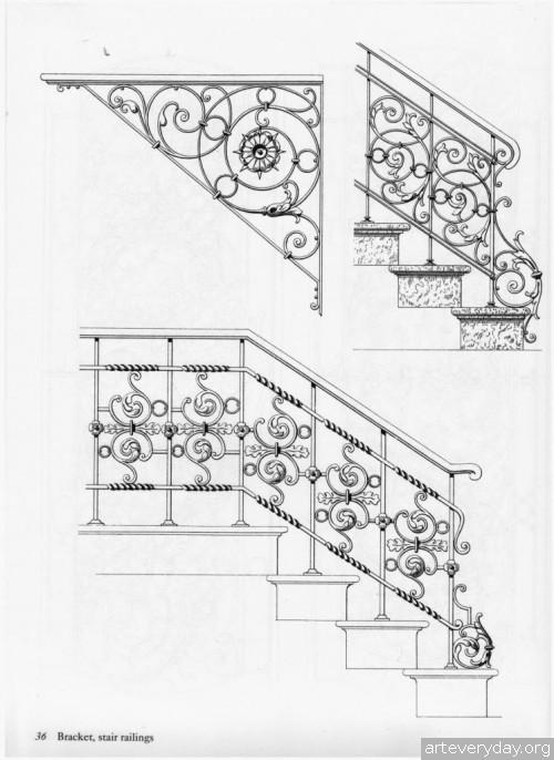 3 | Traditional ironwork designs - Альбом кованных изделий | ARTeveryday.org