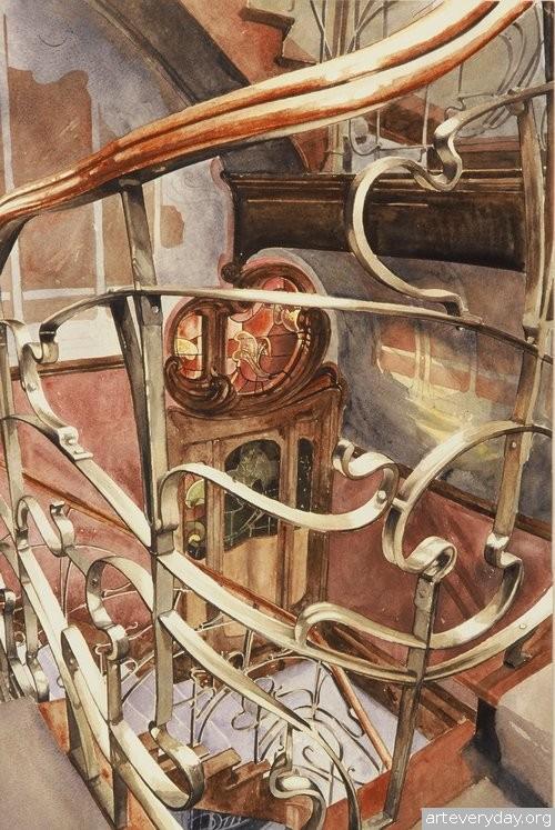 3 | Paul Dmoch. Архитектор и акварелист | ARTeveryday.org