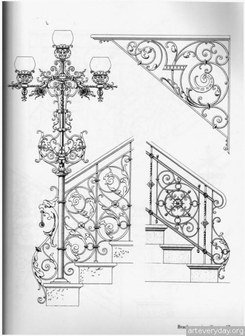 4 | Traditional ironwork designs - Альбом кованных изделий | ARTeveryday.org