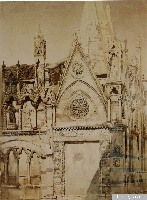 4 | John Ruskin - Джон Рескин. Архитектура в акварели | ARTeveryday.org
