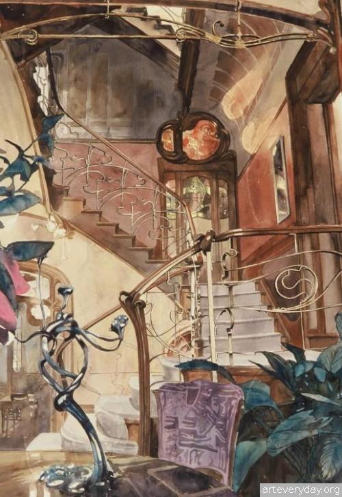 4 | Paul Dmoch. Архитектор и акварелист | ARTeveryday.org