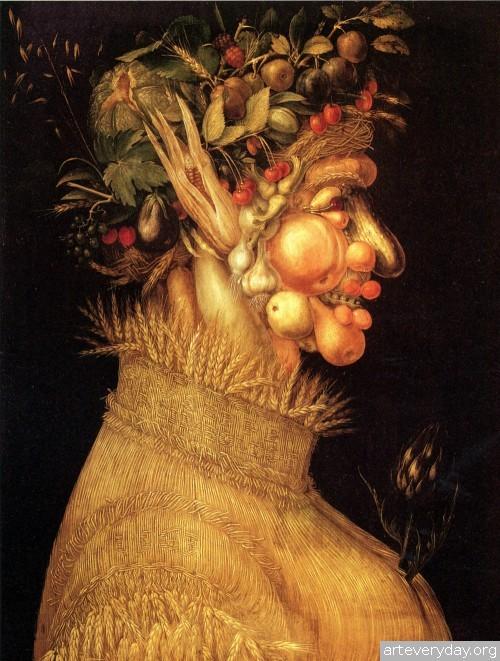 4 | Arcimboldo Giuseppe - Арчимбольдо Джузеппе. Фантастические портреты | ARTeveryday.org
