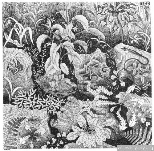 5 | Мауриц Корнелис Эшер – Maurits Cornelis Escher. Полное собрание графики | ARTeveryday.org