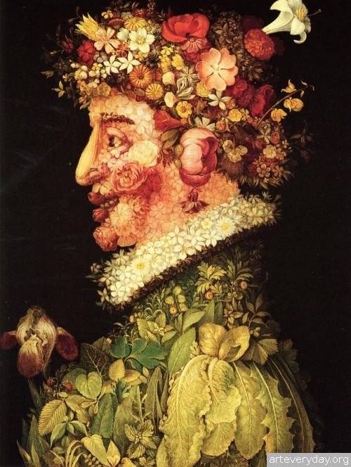 5 | Arcimboldo Giuseppe - Арчимбольдо Джузеппе. Фантастические портреты | ARTeveryday.org