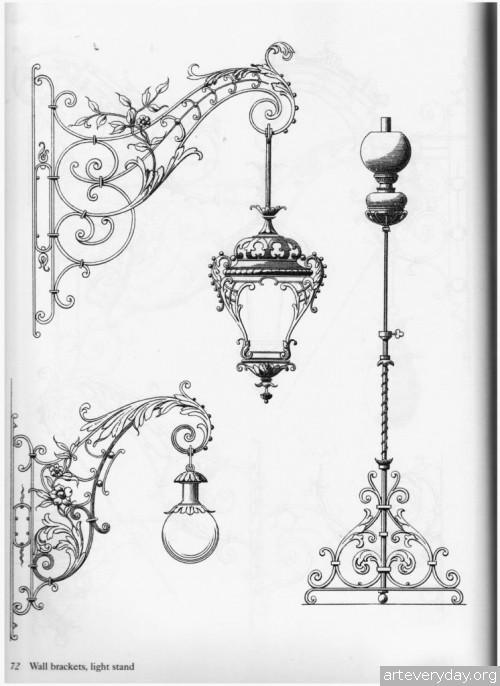 6 | Traditional ironwork designs - Альбом кованных изделий | ARTeveryday.org