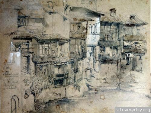 6 | John Ruskin - Джон Рескин. Архитектура в акварели | ARTeveryday.org