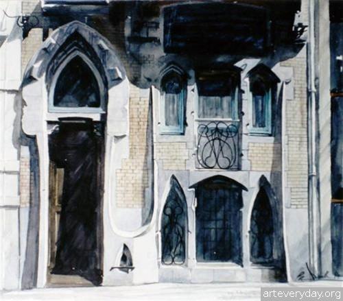 6 | Paul Dmoch. Архитектор и акварелист | ARTeveryday.org
