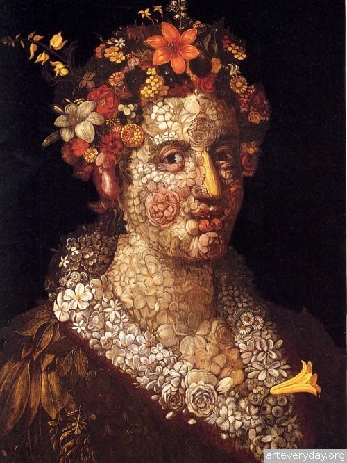 6 | Arcimboldo Giuseppe - Арчимбольдо Джузеппе. Фантастические портреты | ARTeveryday.org