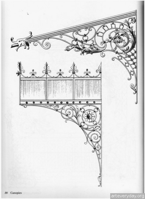 8 | Traditional ironwork designs - Альбом кованных изделий | ARTeveryday.org