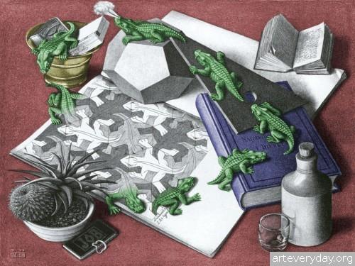 8 | Мауриц Корнелис Эшер – Maurits Cornelis Escher. Полное собрание графики | ARTeveryday.org