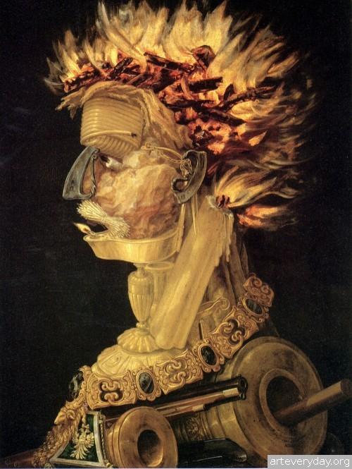 8 | Arcimboldo Giuseppe - Арчимбольдо Джузеппе. Фантастические портреты | ARTeveryday.org