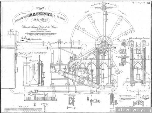 9 | Атлас морской техники ВМФ Франции XIX века | ARTeveryday.org