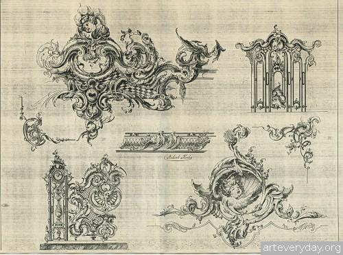 9 | Орнаменты эпохи рококо | ARTeveryday.org