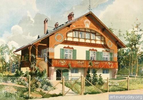Городские виллы начала XX века | ARTeveryday.org