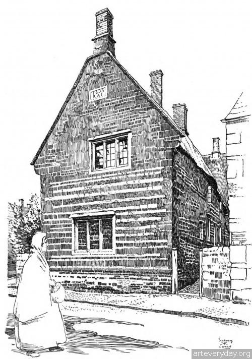 1 | Английская деревня начала XX века. Зарисовки | ARTeveryday.org