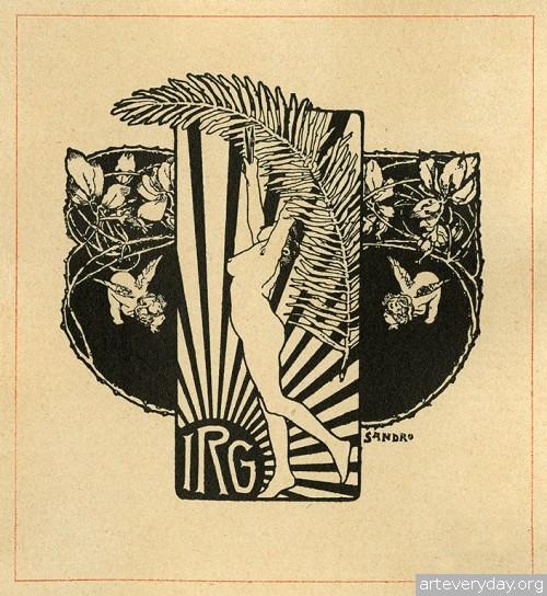 17 | Коллекция экслибрисов конца XIX - начала XX века. Часть 1 | ARTeveryday.org