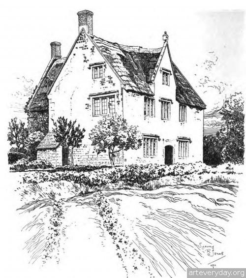 2 | Английская деревня начала XX века. Зарисовки | ARTeveryday.org