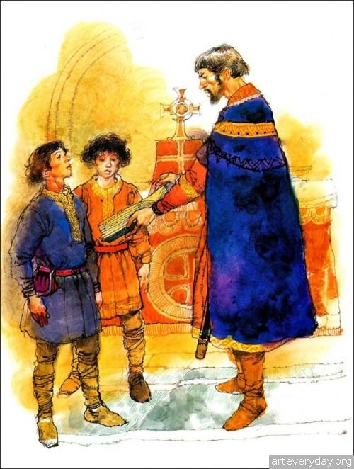 2 | Книжные иллюстрации Виктора Амбруса. Король Артур | ARTeveryday.org