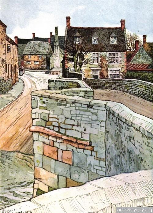 7 | Английская деревня начала XX века. Зарисовки | ARTeveryday.org