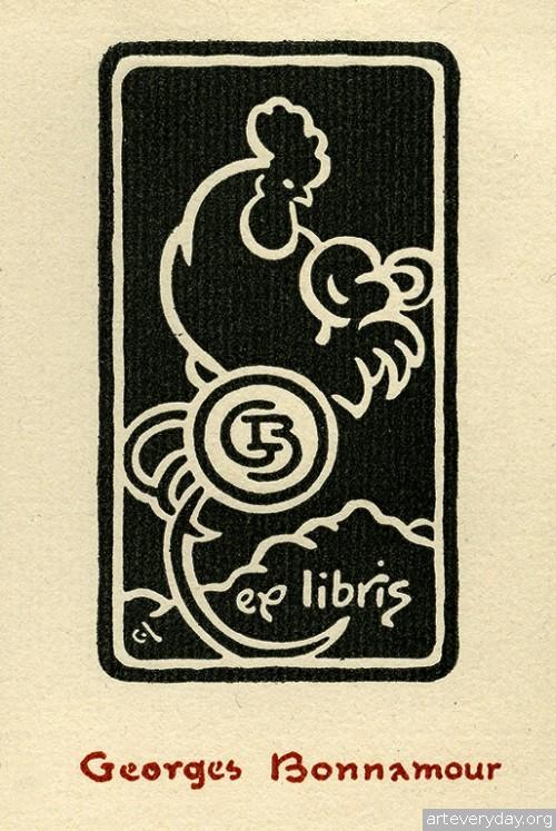 8 | Коллекция экслибрисов конца XIX - начала XX века. Часть 1 | ARTeveryday.org