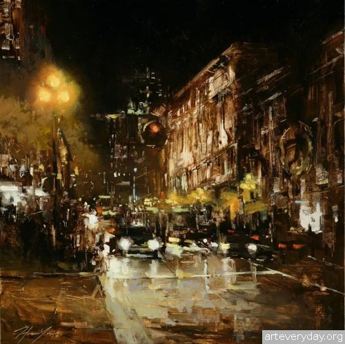 10 | Hsin-Yao Tseng - Син-Яо Цзэн. Рассвет и закат в Сан-Франциско | ARTeveryday.org