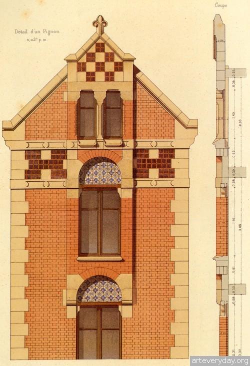 10 | Victorian Brick and Terra-Cotta Architecture - Викторианская кирпичная и терракотовая архитектура | ARTeveryday.org