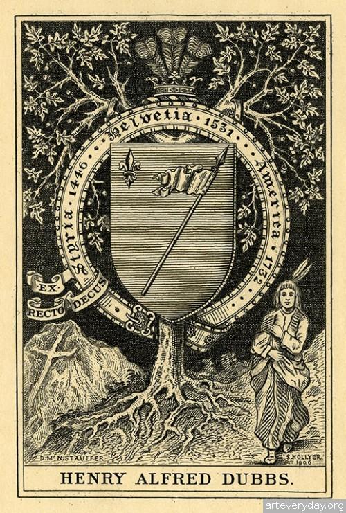 12 | Коллекция экслибрисов конца XIX - начала XX века. Часть 2 | ARTeveryday.org